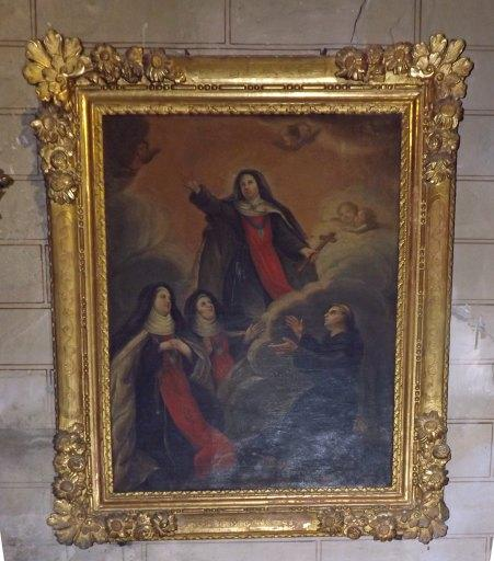 Tableau : la glorification de Jeanne de France