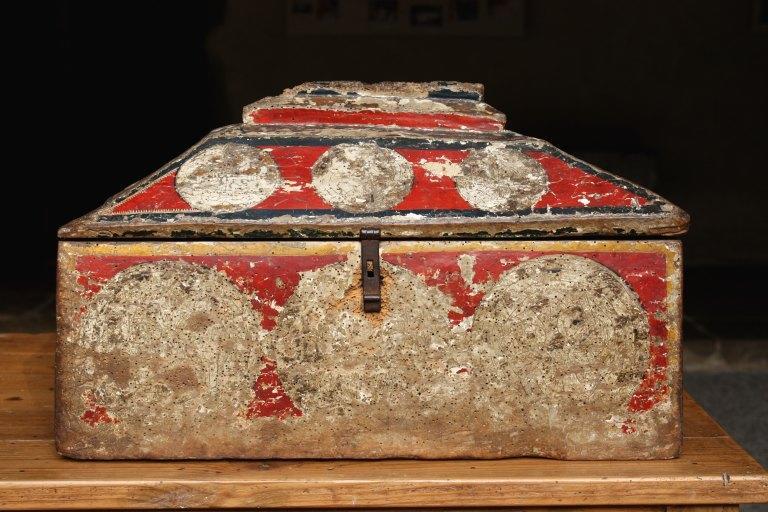 Ancienne châsse de saint Lizier