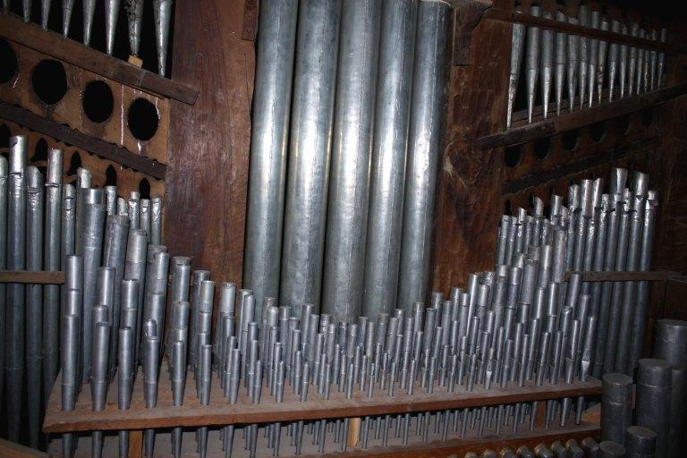 Partie instrumentale de l'orgue
