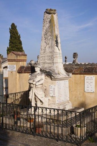 Monument aux morts de la guerre 1914-1918 et de la guerre 1939-1945 de Montaudran