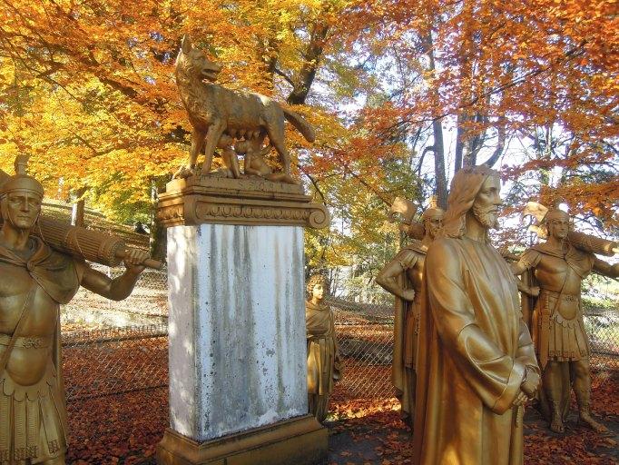 Jardin paysager du calvaire dit Chemin de croix des Espélugues