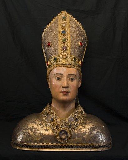 Buste-reliquaire de saint Lizier