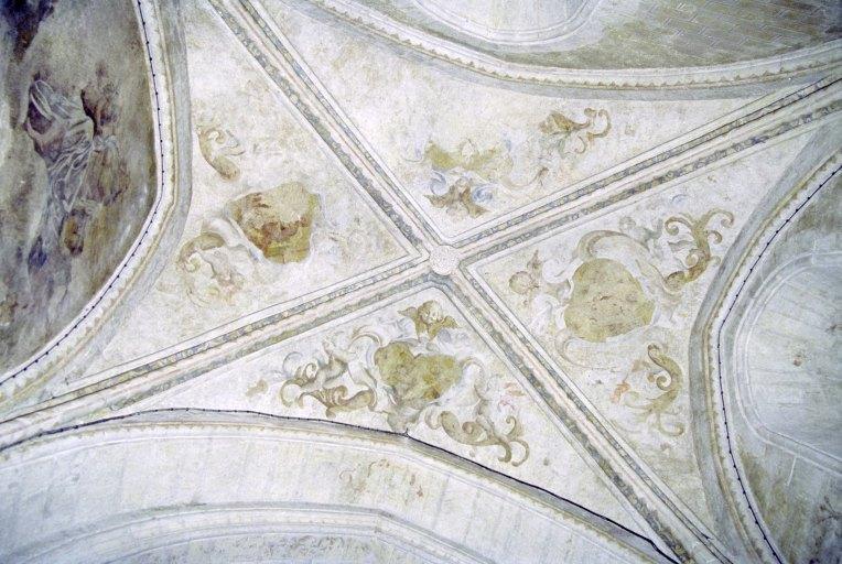 Ensemble des peintures monumentales gothiques (5 peintures monumentales)