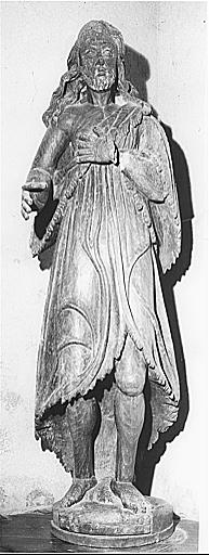 Statue (petite nature) : saint Jean-Baptiste