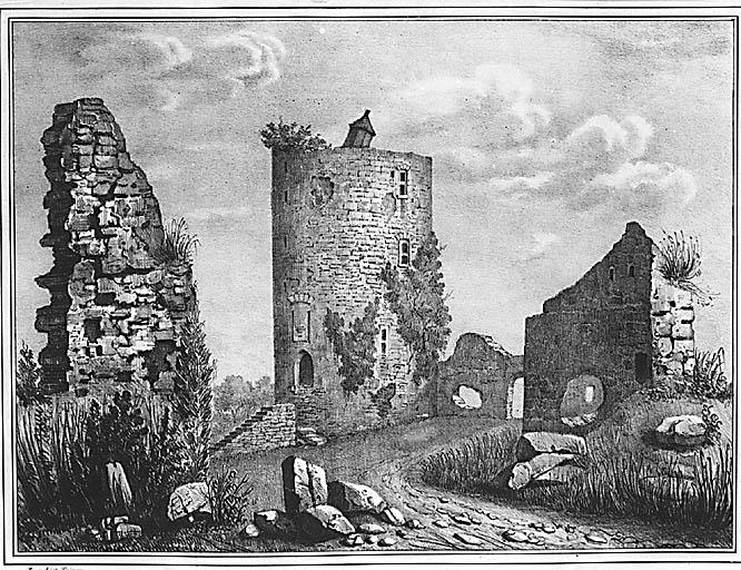 château fort dit tour de Bridiers