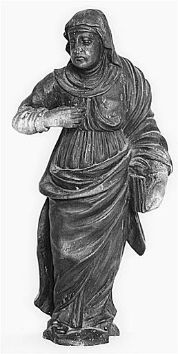 statue : sainte Anne (?)