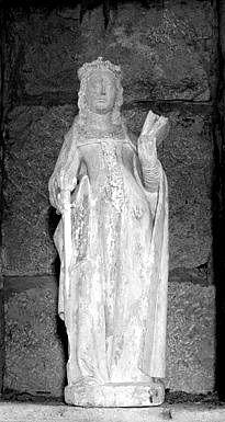 statue : sainte Catherine d'Alexandrie, dite sainte Agnès