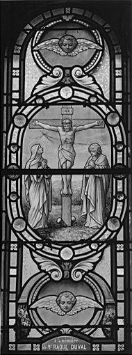 Verrière : la Crucifixion