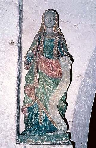 Statue (demi-nature) : sainte Marie l'Egyptienne