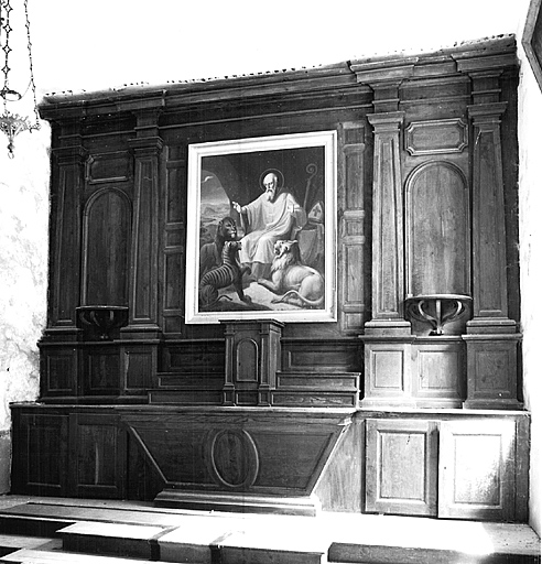 Autel, retable, tabernacle (maître-autel)