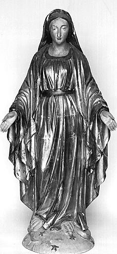 Statue (demi-nature) : Immaculée Conception