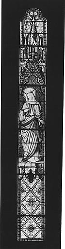 verrière : la Vierge