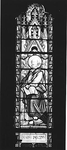 Verrière : saint Pierre
