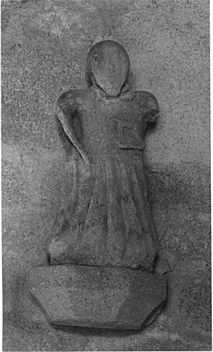 Statuette : religieux