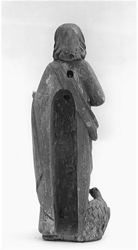 Statue (demi-nature) : saint Jean