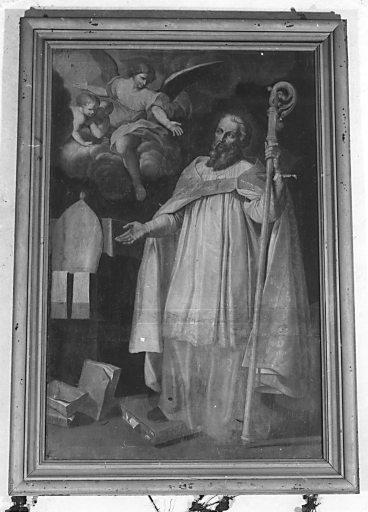 tableau, cadre : saint Germain d'Auxerre