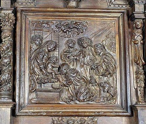 2 tabernacles, 3 gradins d'autel, exposition