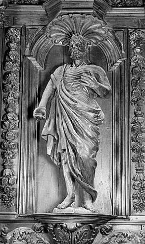 Statue (figure colossale) : saint Jérôme