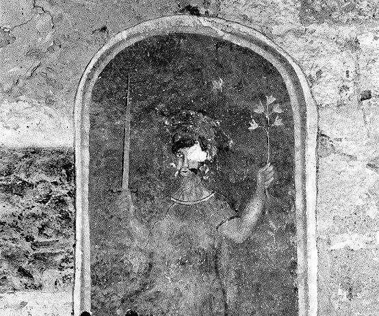 3 peintures monumentales : Dieu le Père et les évangélistes, saint Roch, saint Maurice