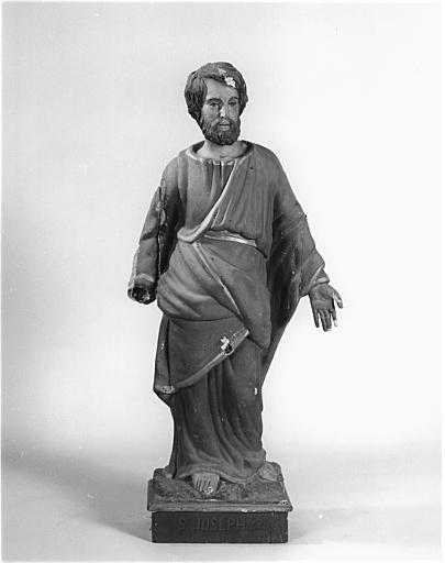 Statue (demi-nature) : saint Joseph