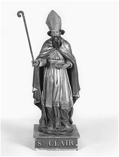 Statuette : saint Clair