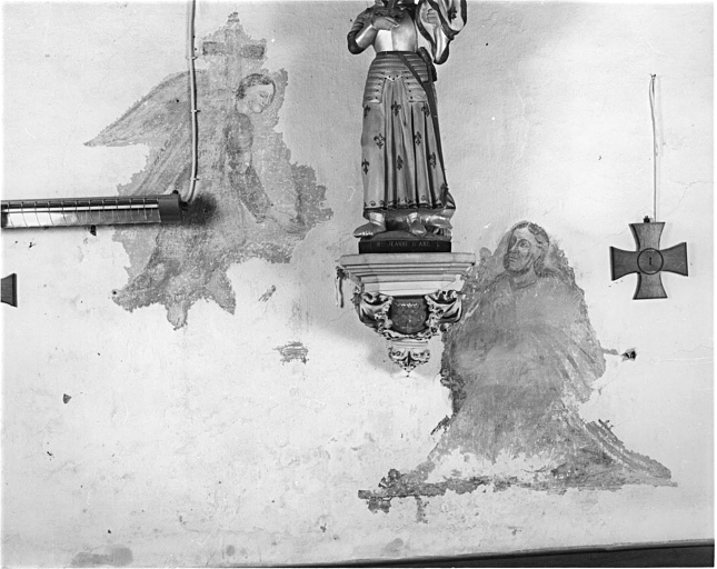 2 peintures monumentales : l'Agonie du Christ, le Déluge (?)
