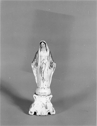 Statue (figurine) : Vierge de l'Immaculée Conception