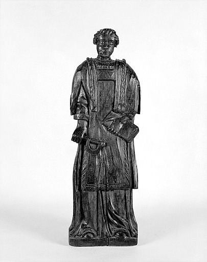Demi-relief : saint Léonard