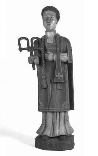 Statue : saint Léonard