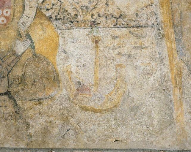 Peinture monumentale : la Légende de saint Christophe