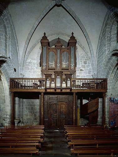 ensemble de l'orgue (partie instrumentale de l'orgue, buffet d'orgue)