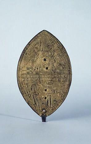 reliquaire-monstrance, dit phylactère de sainte Claire et sainte Valérie
