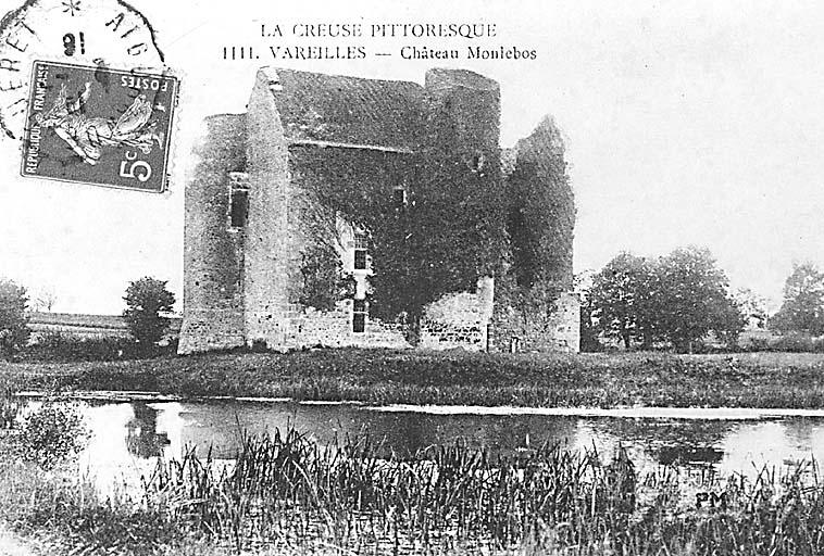 manoir dit château de Montlebeau