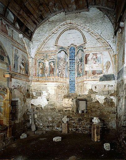 Peintures monumentales de la fin du 13e ou du début du 14e siècle (ensemble des peintures monumentales)