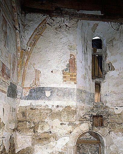 Peintures monumentales de la 1ère moitié du 13e siècle (ensemble des peintures monumentales)