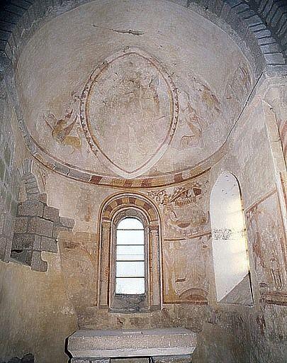 Peintures monumentales de l'abside (ensemble des peintures monumentales)