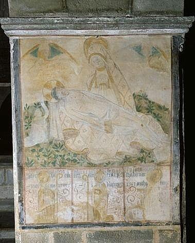 Peinture monumentale : Vierge de Pitié