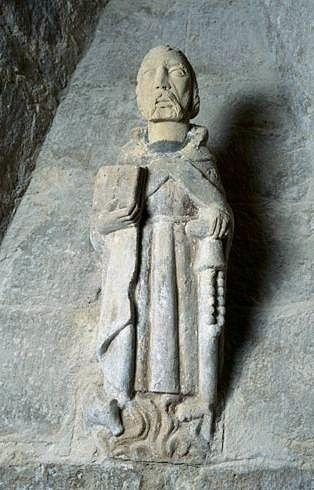Statuette : saint Antoine abbé