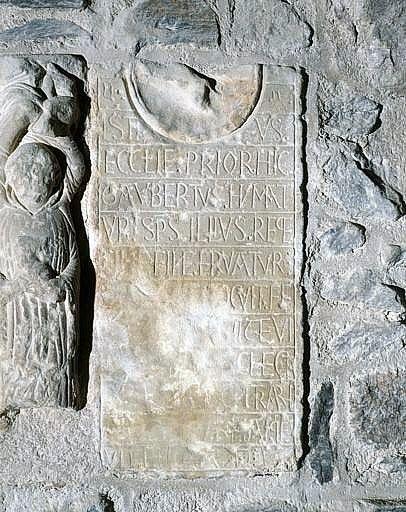 Plaque funéraire de Gaubert
