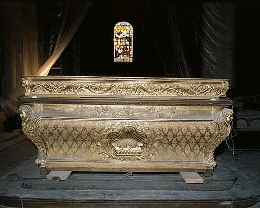 autel double face (maître-autel, autel à la romaine), gradin d'autel double face