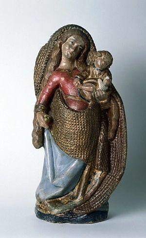 Statue : Vierge à l'Enfant, dite Notre-Dame du Pont