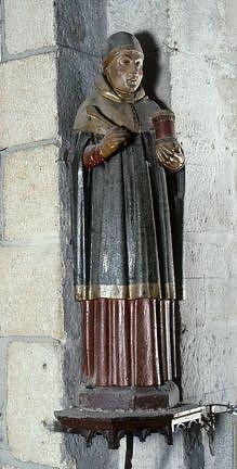 Statue (petite nature) : saint Côme, ou saint Damien ?