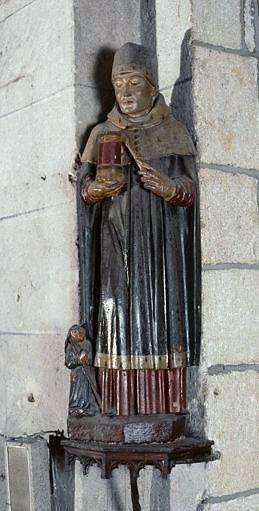 Statue (petite nature) : saint Damien, ou saint Côme ?