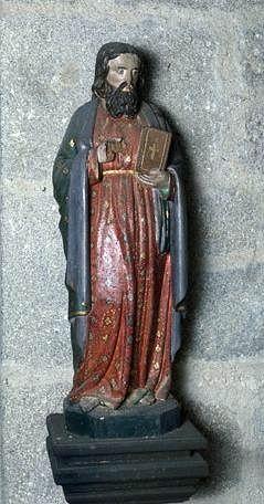 Statue (demi-nature) : saint Barthélémy
