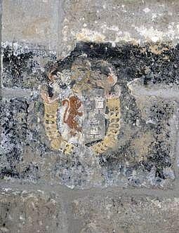 litre des familles d'Annet de la Bastide Cognac et d'Hélène de Pompadour Châteauboucher