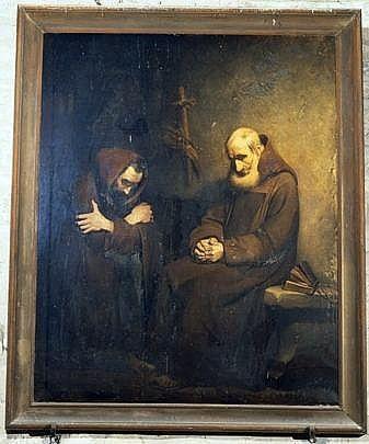 Tableau : la Vie ascétique ou la Confession