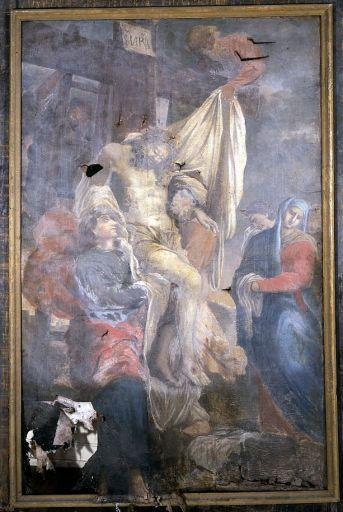 tableau, cadre : Descente de Croix