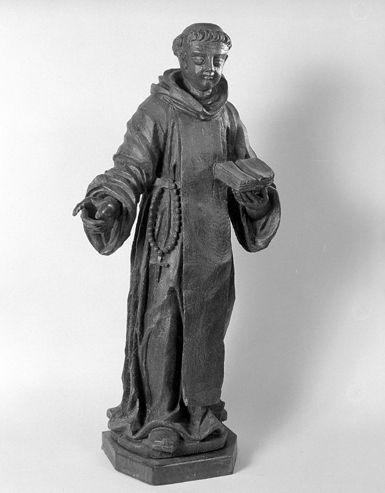 Statue (petite nature) : saint Dominique