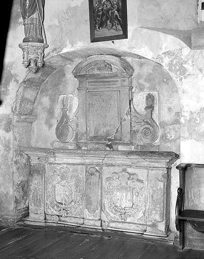 monument funéraire de Philippe de Meilhards et de Julie de Salagnac