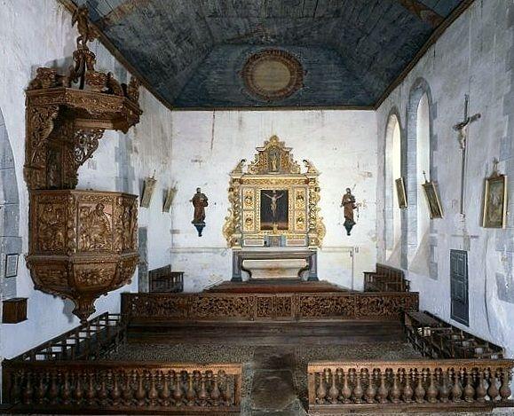 clôture de choeur (table de communion), chaire à prêcher